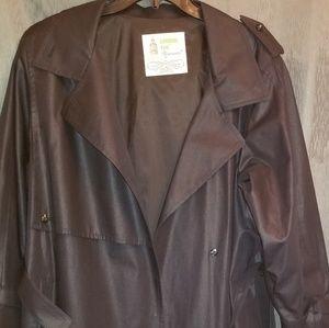 Vintage women's London Fog trench coat